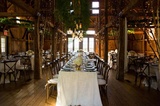 Spring Barn at Flanagan Farm Wedding