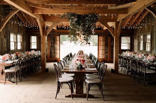 Intimate Maine Wedding Celebration At The Barn at Primo