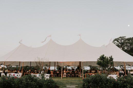 Charming Casco Bay Wedding Reception