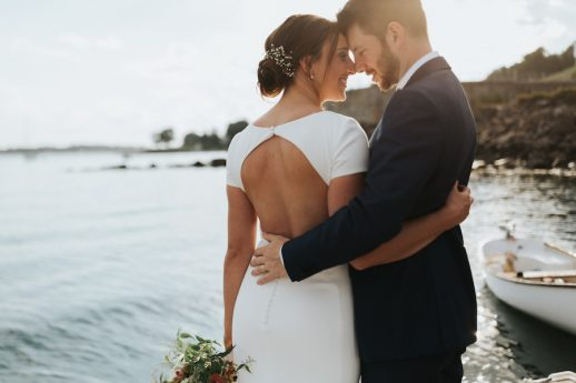 Intimate Coastal Wedding Featured on Seacoast Weddings