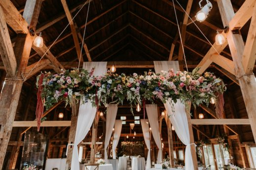 Colorful Beech Ridge Barn Wedding